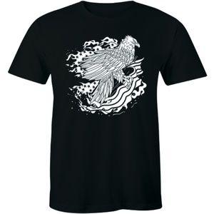 Bald Eagle Flag T-Shirt 4th of July Patriotic Tee